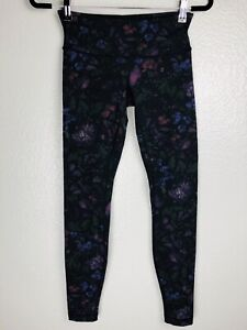 Lululemon Wunder Under Low Rise Luxtreme Legging 4 XS Frozen Flourish Multi $54.99