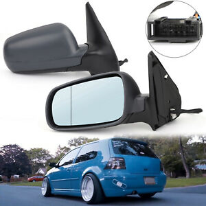 2PCS Leftamp;Right Electric Wing Side Door Mirror For Volkswagen VW Golf Bora Mk4 $81.89