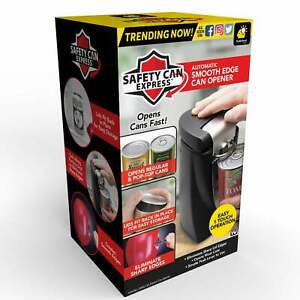 Original Safety Can Express As Seen On TV by BulbHead Electric Can Opener