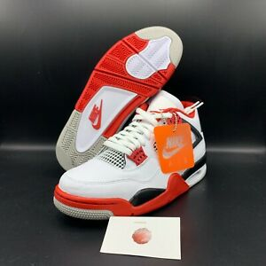 AIR JORDAN 4 RETRO quot;FIRE REDquot; 2020 RELEASE DC7770 160 $269.99