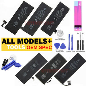 OEM SPEC Replacement Internal Battery For iPhone 5 5C 5S 6 6S 7 8 X XS Plus Tool $9.99