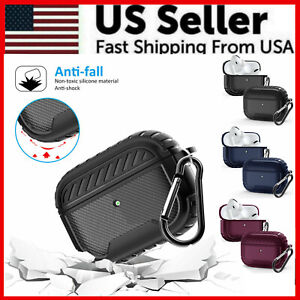 For Apple AirPods Pro Case Slim Rugged Armor Matte Heavy Duty Shockproof Cover $6.79