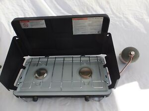 Brinkmann Two Burner Steel Propane Stove camping outdoor stove Nice amp; Compact