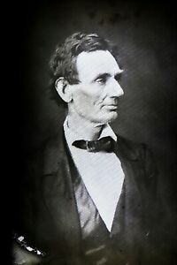 Abraham Lincoln Magic Lantern Slide