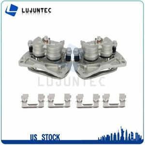 Front Brake Calipers With Bracket 1 Pair For 02 14 Subaru Legacy Subaru Outback $106.67