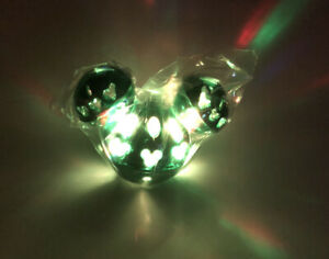 Disney Parks Mickey Mouse Green Jingle Bell Light Up Glow Ice Cube. $15.00