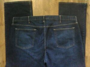 OLD NAVY STRAIGHT STRETCH MEN#x27;S DESIGNER JEANS TAG 46X32 ACTUAL 46X30.5