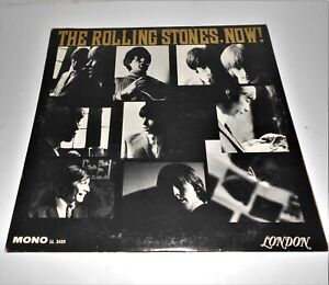 THE ROLLING STONES ORIGINAL USA NOW MONO LP RED LONDON LL 3420 1964 $47.77