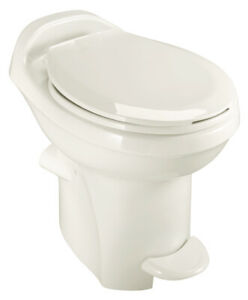 Aqua Magic Style Plus RV Toilet High Profile Bone Thetford 34430