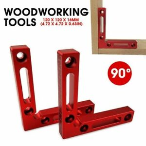 1Pc Carpenter Tools Right Angle Clamps 90° Positioning Square Woodworking Tool $17.99