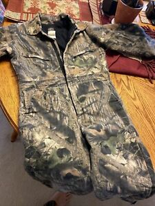 Wolfmountain Boys Camo Insualted Coverallssize 1214 Large $35.00