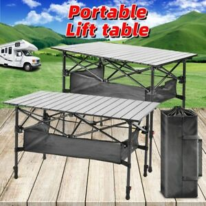 Outdoor Picnic Folding Table Portable Folding Table For Camping Camping Kitchen