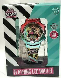 NEW L.O.L. SURPRISE OMG GIRLS FLASHING LCD WATCH WATCH LOL #CollectLOL #OMG $22.88