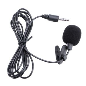 Clip on Lapel Mini Lavalier Mic Microphone 3.5mm For Mobile Phone PC Recording $4.99