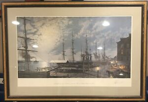John Stobart Philadelphia Offset Lithograph signed and numbered in pencil $949.95