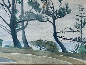 Vintage Watercolor by Unknown Artist $139.95