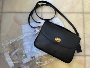 Coach Cassie Crossbody Black New with Tags