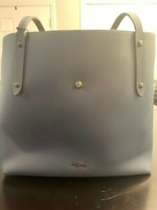 Brand New Blue Coach Purse Leather Perfect Condition