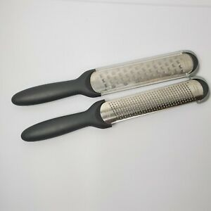 cuisipro accutec 1 amp; 2 zester grater set of 2 flat blades $17.95
