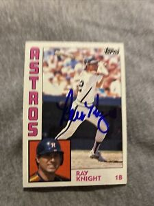 Ray Knight 2017 Topps Archives Sealed Auto Card #660 Signed Auto $19.99