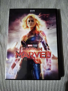 Captain Marvel DVD 2019
