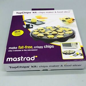Mastrad chip maker food slicer for microwave new in open box