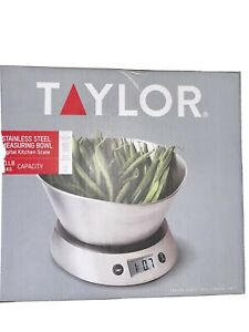 Taylor stainless steel measuring bowl And Scale Oprah#x27;s Favorite things $22.00