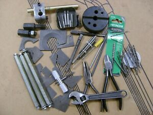 Machinist Gunsmith Starrett Craftsman Hitachi Crescent Radius Gages Tool Lot $38.00