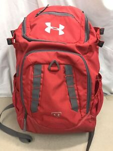 Under Armour Heatgear Storm 1 Large Backpack Red $15.99