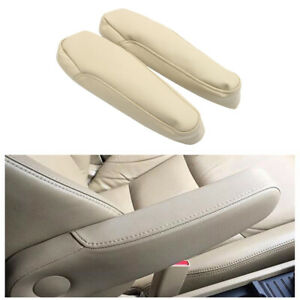 Car Pu Leather Armrest Pad Cover Cushion Mat Replacement Parts for Honda Odyssey $15.75