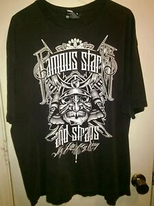 Famous Stars amp; Straps My Life My Way Mens Black Short Sleeve Graphic T shirt $16.00