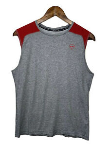 Nike Fit Men's Size Large Tank Top Dri Fit Fitted Shirt Athletic Baseball $13.00