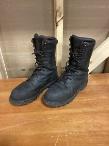 Red Wing TruWelt Metguard 4499 Steel Toe Work Boot Mens Size 9 USA Safety