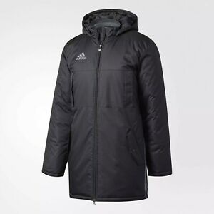 NWT Adidas Soccer Condivo 16 Stadium Jacket Parka Men#x27;s Large AN9870 $99.99