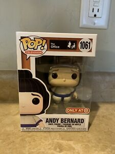 FUNKO POP THE OFFICE ANDY BERNARD IN SUMO SUIT TARGET EXCLUSIVE #1061 $24.99