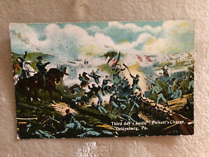 GETTYSBURG PA * CIVIL WAR BATTLEFIELD * Third Day's Battle. Pickett's Charge. $9.24