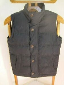 Abercrombie amp; Fitch Boys Black DOWN Vest XL Youth Vest will fit small adults