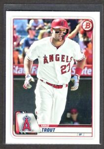 MIKE TROUT ANGELS 2020 BOWMAN #1