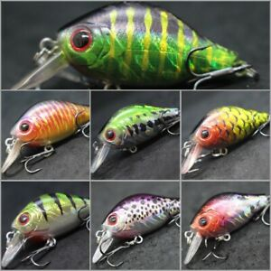 Crankbait For Bass Fishing Fishing Lures 2 1 5 inch 1 4 oz Multiple Colors C564