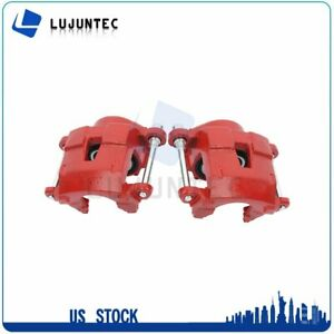 Front Brake Calipers With Bracket For Buick Chevrolet GMC 1 Pair Left Right $73.24