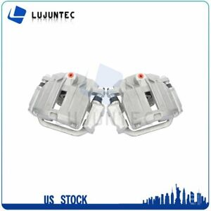 Rear Brake Calipers With Bracket For Cadillac Deville Chevrolet Avalanche 1 Pair $110.97