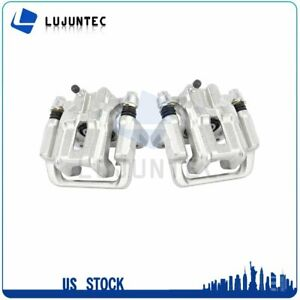 Rear Brake Calipers With Bracket For 1999 2008 Acura TL 2003 2011 Honda Element $67.06