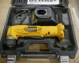 1 DEWALT RIGHT ANGLE DRILL DW965 WITH CHARGER DW9118 12 VOLT CASE PRE OWNED $69.95