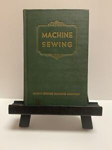 Rare 1948 Singer Machine sewing Book Attachments Green Teachers of home economic $250.00