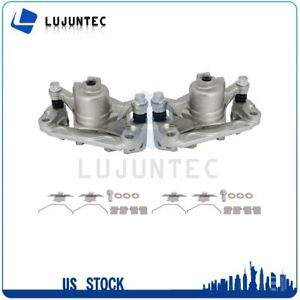 Rear Brake Calipers With Bracket 1 Pair For 2000 2010 Chevrolet Impala $66.08