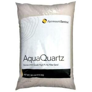 Fairmount Minerals Pool Filter Sand 20 Grade Silica Sand 50 Pounds Also for Use $19.99