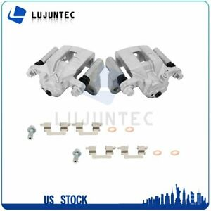 Rear Brake Calipers With Bracket 1 Pair For 2014 2015 Nissan Rogue Select $63.10