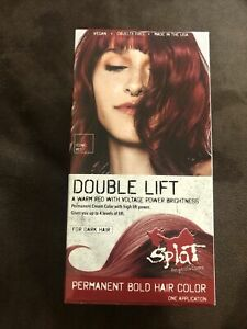 Splat Double Lift Permanent Hair Color Iconic Red $20.96