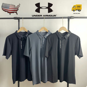 UNDER ARMOUR Quick drying clothes Activewear Tops Mens Playoff Golf Polo Shirt $26.70