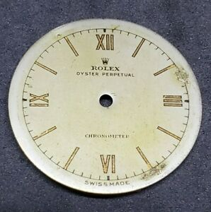 Vintage Rolex Oyster Perpetual Bubbleback Dial Part for 2940 3372 5050 $999.99